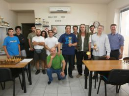Πρωταθλητής Ελλάδας στο Καλλιτεχνικό Σκάκι ο Παναγιώτης!