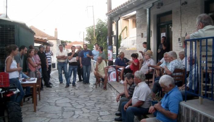 Μήνυμα αισιοδοξίας για το εκλογικό δυνάμωμα του ΚΚΕ στέλνει το Μεγανήσι