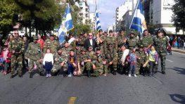 Η Τράπεζα Αίματος «Μαρίνος Ζαμπάτης» στη μνήμη του Μεγανησιώτη Ήρωα στη Παρέλαση της 28ης Οκτωβρίου