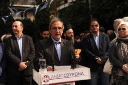 Ο Μεγανησιώτης Δήμαρχος Βύρωνα στον Εορτασμό της 28ης Οκτωβρίου