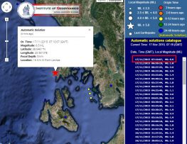 Πολύ ισχυρός σεισμός συγκλόνισε το νησί, πάνω από 6 ρίχτερ (update 2)