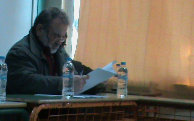 Ανεξαρτητοποίηση του δημ. συμβούλου Γ. Αργύρη