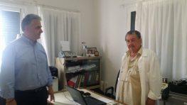 Επίσκεψη Θ. Καββαδά σε Μεγανήσι, Κάλαμο, Καστό