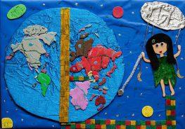 Πρώτο βραβείο σε διαγωνισμό ζωγραφικής για την Μαρία Κατωπόδη