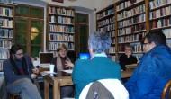 Ο Παναγιώτης Κονιδάρης στη Λέσχη Ανάγνωσης της Βιβλιοθήκης