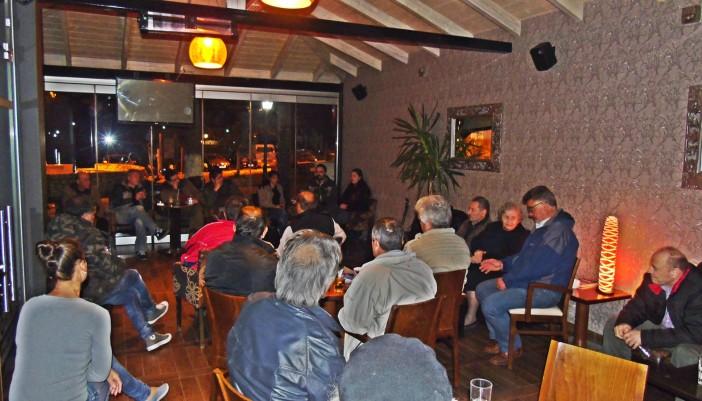 Πολιτική εκδήλωση στο Βαθύ Μεγανησίου διοργάνωσε η ΤΕ Λευκάδας του ΚΚΕ