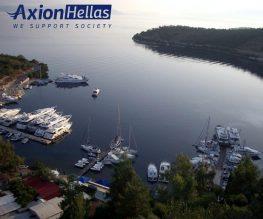 Στο Κεντρικό Δελτίο Ειδήσεων της ΕΤ1 η δράση της Αxion Hellas σε Κάλαμο, Καστό και Μεγανήσι