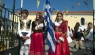 Η παρέλαση των σχολείων την 25η Μαρτίου.