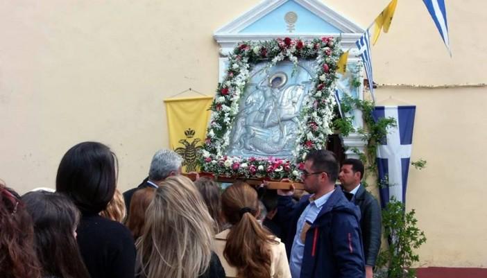 Εορτασμός Αγίου Γεωργίου στο Σπαρτοχώρι