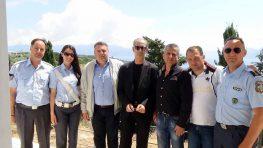 Εθιμοτυπική επίσκεψη Αστυνομικού Διευθυντή Λευκάδας κ. Δημήτριου Κορομηλά