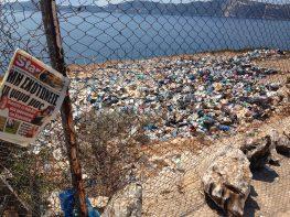 Οικτρή η κατάσταση στον σκουπιδότοπο…
