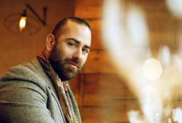 Ο Μεγανησιώτης Σεφ Άρης Βεζενές στο Cycladic Talks στο Cafe του Μουσείου Κυκλαδικής Τέχνης