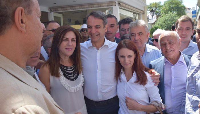 Στο Μεγανήσι ο Κ.Μητσοτάκης