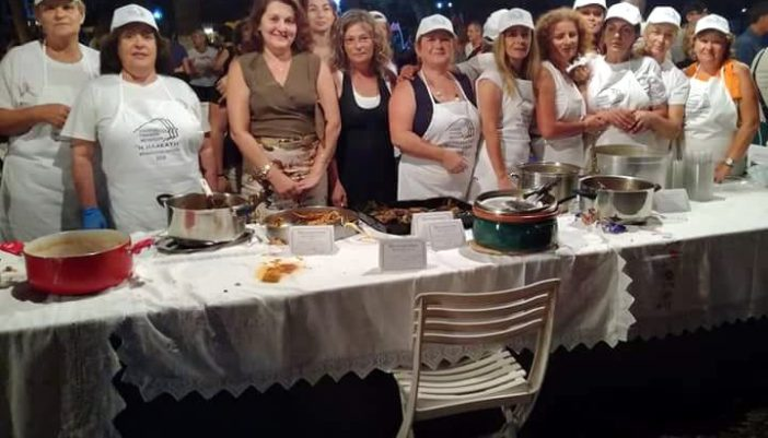 Παρουσίαση Μεγανησιώτικης Παραδοσιακής Κουζίνας από το Σύλλογο Γυναικών Μεγανησίου «Η Ηλακάτη»
