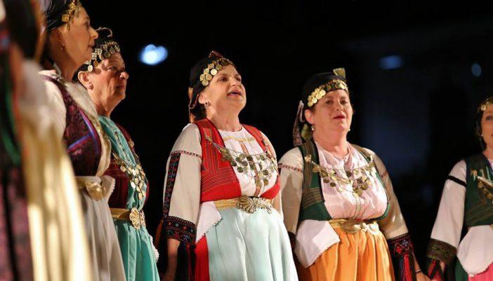 Μουσικοχορευτική Παράσταση «…Για πες μου μαντηλάκι μου αν μ' αγαπάει η κυρά σου…» του Συλλόγου Γυναικών Μεγανησίου «Η ΗΛΑΚΑΤΗ» με θέμα τον έρωτα στην Ελληνική παράδοση