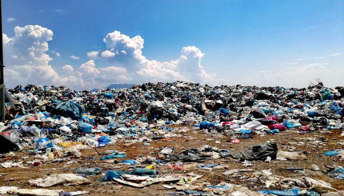 Σημερινή εικόνα του σκουπιδότοπου στην Σκίζα