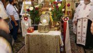 Το ιερό λέιψανο της Τιμίας Κάρας του Αγίου Βησσαρίωνος στο Βαθύ στο Μεγανήσι