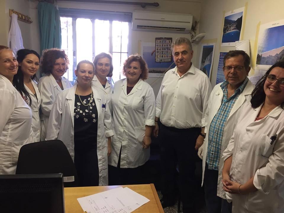 Επίσκεψη βουλευτή σε Νοσοκομείο: σοβαρές οι ελλείψεις