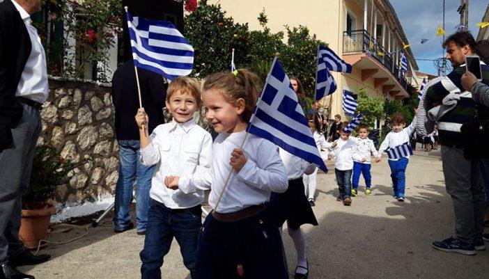 Επέτειος 28ης Οκτωβρίου 1940 στο Σπαρτοχώρι | Κατάθεση Στεφάνων και Σχολική Παρέλαση