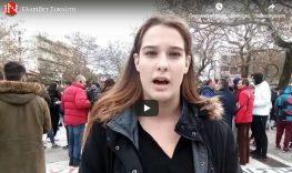 Η Μεγανησιώτισα Πρόεδρος του Συλλόγου Φοιτητών ΤΕΦΑΑ Κομοτηνής ΔΠΘ «Σπύρος Λούης»  Ελισάβετ Συκιώτη στο In Komotini