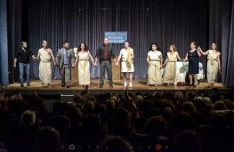 Ευχαριστήριο Θεατρικής Ομάδας «Αυλαία και Πάμε» του Συλλόγου Γυναικών Μεγανησίου «Η ΗΛΑΚΑΤΗ» για την Παράσταση «Οίκος Ενοχής» στην Αθήνα