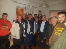 Συνάντηση Θανάση Καββαδά  με ιδιοκτήτες βιντζότρατας