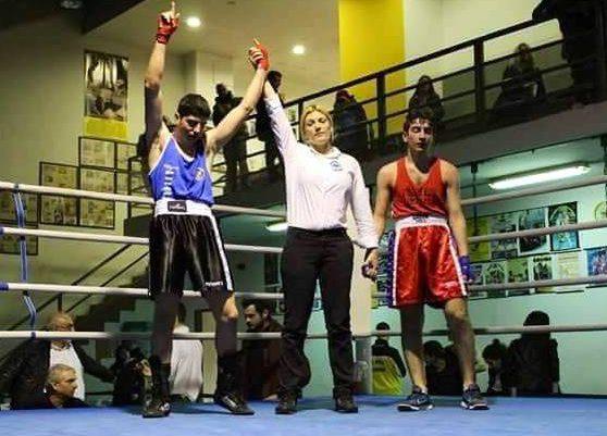 Πρωταθλητής Ελλάδος Πυγμαχίας στους Εφήβους ο Μεγανησιώτης Κωνσταντίνος Μάντζαρης
