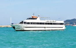 """Από τη Μεγάλη Δευτέρα αρχίζουν τα δρομολόγια του πλοίου """"AZIMUT"""" στο Ιόνιο"""