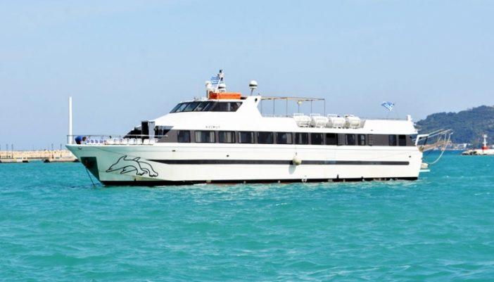 """Τα δρομολόγια του πλοίου """"AZIMUT"""" από Μεγάλη Δευτέρα στο Ιόνιο"""