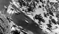 27 Ιουλίου 1943, η RAF βομβαρδίζει το Μεγανήσι (Βαθύ)