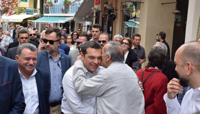 Από την επίσκεψη Τσίπρα στην Λευκάδα (φωτογραφίες, εγκαίνια ΓΝΛ, κινητοποιήσεις, αντιδράσεις)