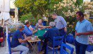Ο Βουλευτής Λευκάδας και ξανά υποψήφιος κος Aθανάσιος Καββαδάς στο Μεγανήσι