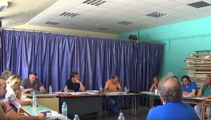 Βίντεο από το τελευταίο ΔΣ (Προϋπολογισμός δήμου Μεγανησίου)