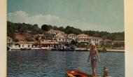 Παλιά καρτ-ποστάλ από το Μεγανήσι πωλείται στο e-bay.