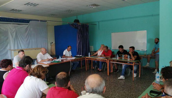 Ψηφίστηκε Προεδρείο και Οικονομική Επιτροπή του Δήμου.