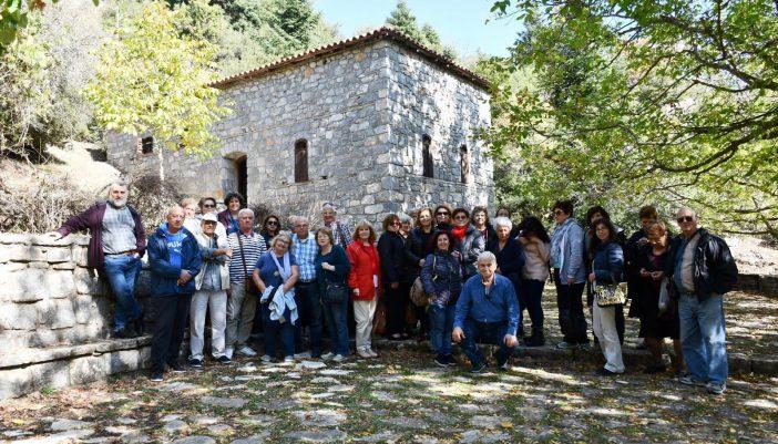 Ο Πολιτιστικός Σύλλογος Επτανησίων Γαλατσίου στα λημέρια των Κολοκοτρωναίων
