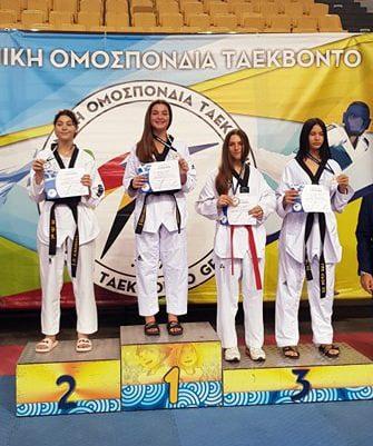 Χρυσό πανελλήνιο μετάλλιο για την Άρτεμη Μανωλαράκη στο Ταε-Κβο-Ντο!