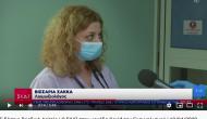 Η Ρούλα Σακκά στην μονάδα COVID-19 του Ευαγγελισμού (video)