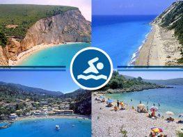 Κατάλληλες για κολύμβηση όλες οι ακτές σε Λευκάδα, Μεγανήσι, Κάλαμο, Καστό