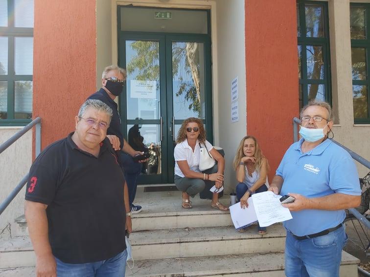 Δήλωση εγκαλούμενων δημοτικών συμβούλων Μεγανησίου  από τον δήμαρχο Παύλο Γ. Δάγλα  για παράβαση καθήκοντος και απιστία