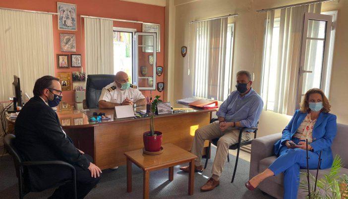 Θανάσης Καββαδάς: «Η δημιουργία Λιμενικού Σταθμού στο Μεγανήσι θα αυξήσει συνολικά την αποτελεσματικότητα του Λιμενικού Σώματος στο Νομό μας»