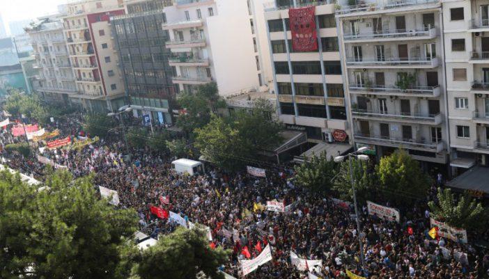 Συλλαλητήριο από το Εργατικό Κέντρο