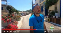 Από την εκπομπή Happy Traveller στην Λευκάδα και το Μεγανήσι