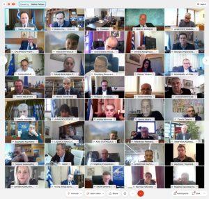 Υπουργοί ενημερώνουν live όλους τους αιρετούς της Τοπικής Αυτοδιοίκησης για το Ταμείο Συνοχής