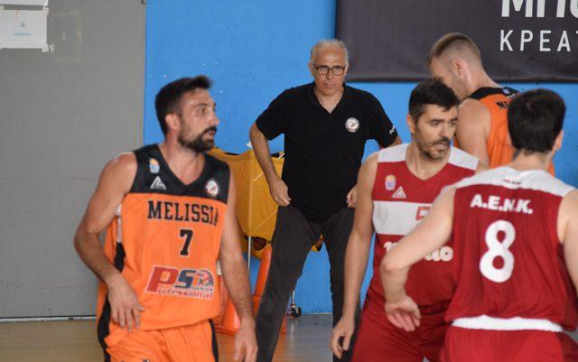 Στα Μελίσσια για τέταρτη χρονιά προπονητής ο Αλέκος Δάγλας