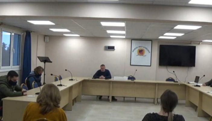 Δημοτικό συμβούλιο για την αναμόρφωση στοχοθεσίας.