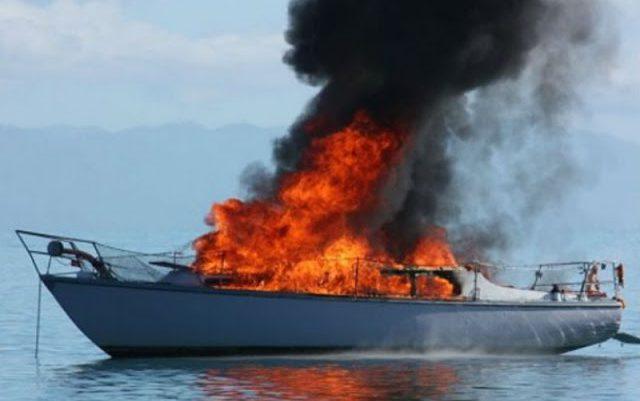 Βυθίστηκε σκάφος ανοιχτά του Μεγανησίου- σώοι οι επιβαίνοντες.
